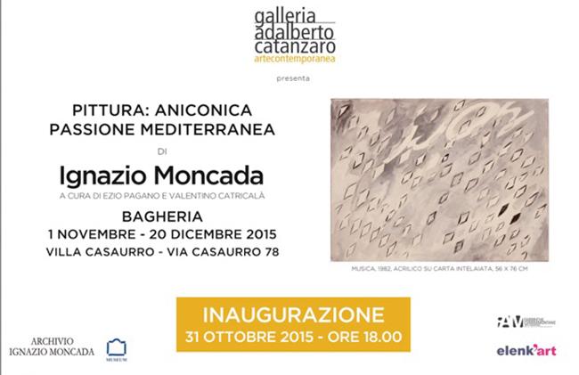 Pittura: Aniconica passione mediterranea, Galleria Adalberto Catanzaro, Bagheria