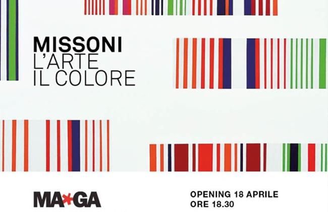 Missoni. L'Arte. Il Colore, Museo MAGA, Gallarate