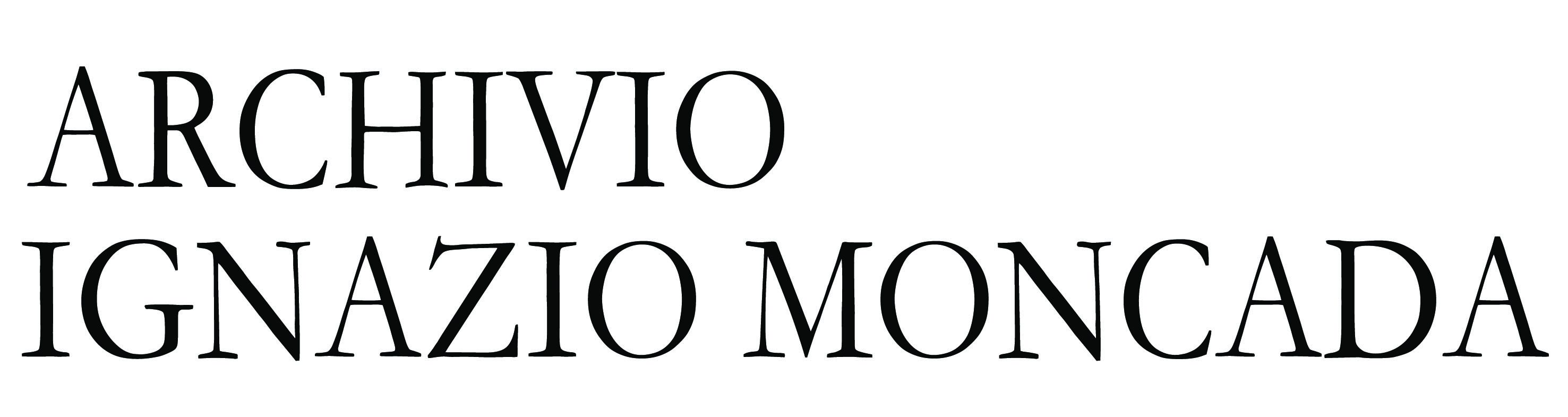 ARCHIVIO IGNAZIO MONCADA